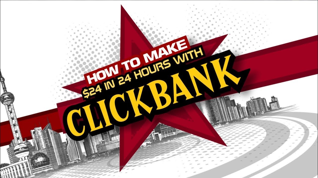 I tried clickbank and made $24 the first day, here is how I did it