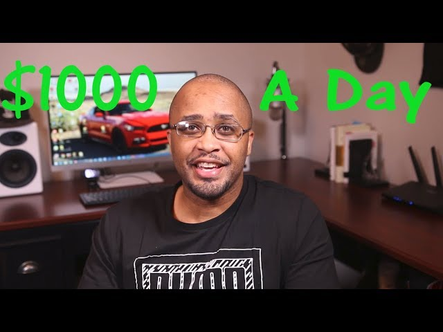 $500 – $1,000 A Day With Affiliate Marketing (For Beginners Step By Step Training)