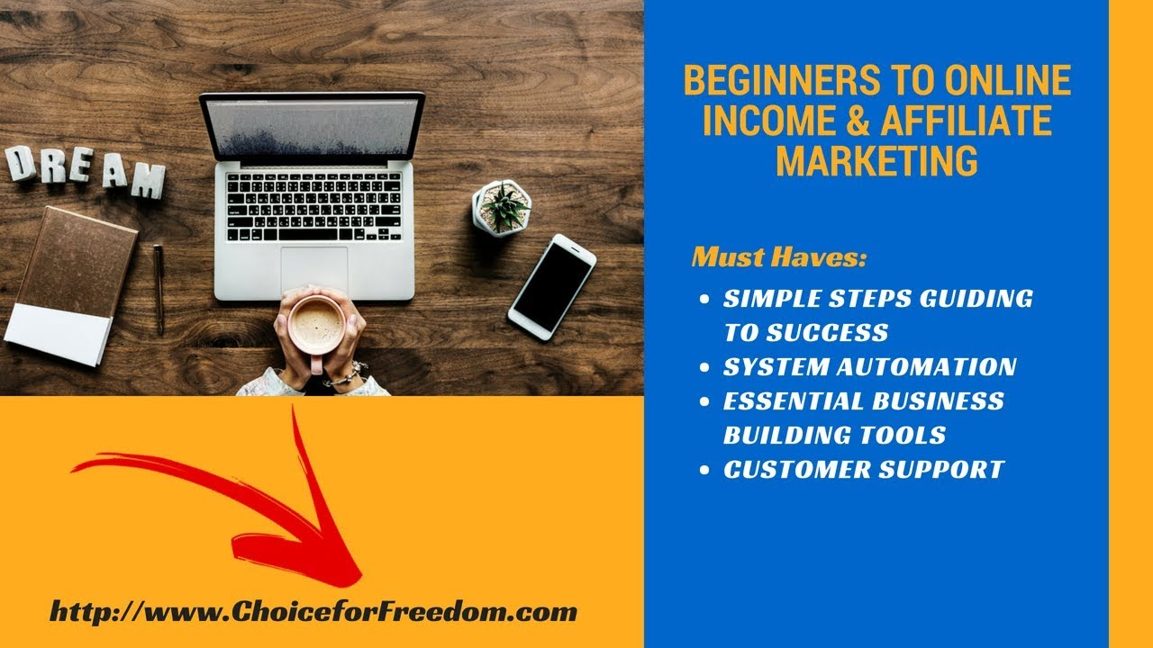 Beginners to Online Income & Affiliate Marketing