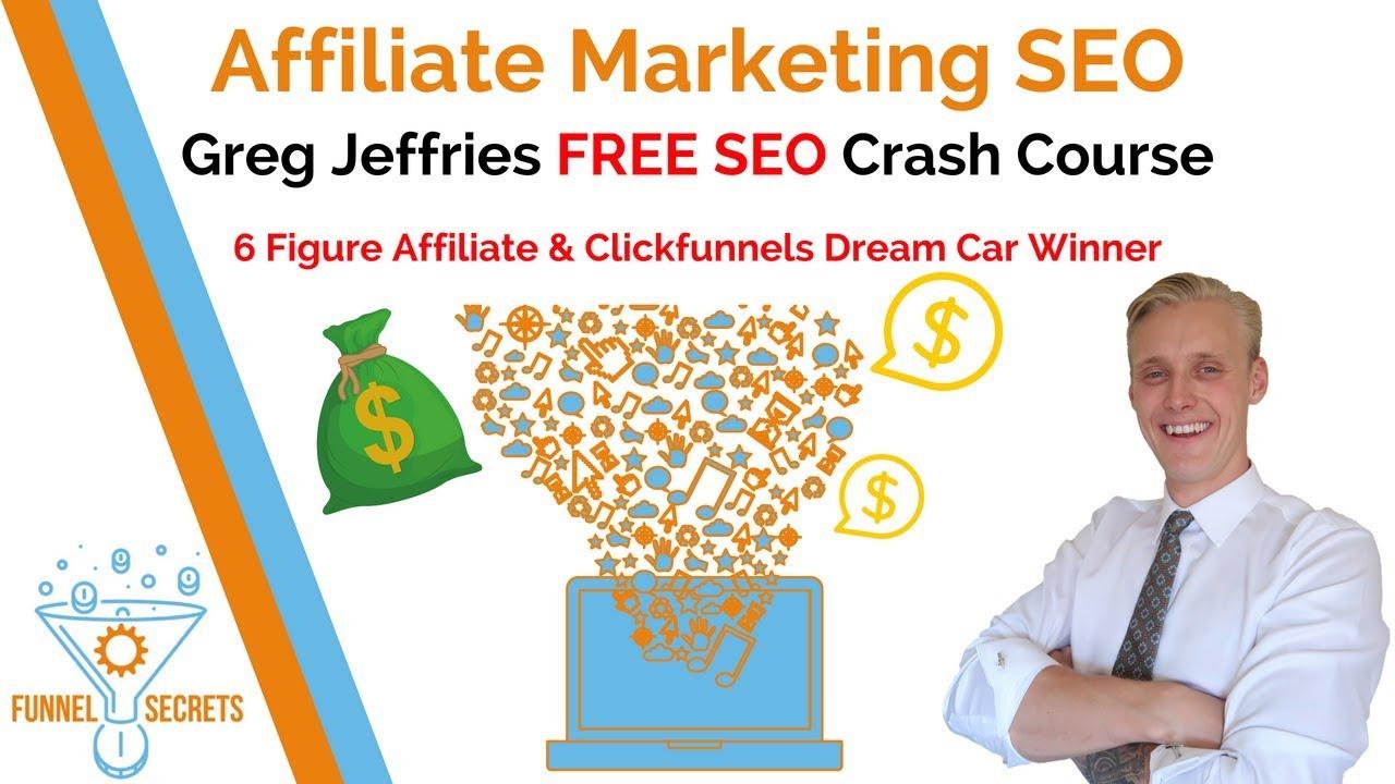 Affiliate Marketing SEO Training – FREE SEO Course