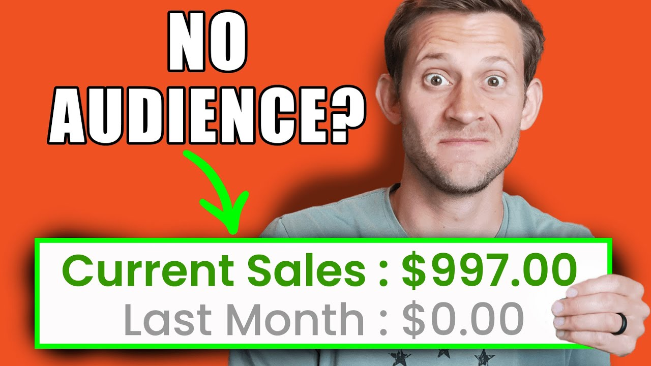 5 Affiliate Marketing Strategies That Require ZERO Audience ($10,000/Month)