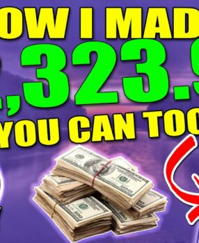 This Made Me $2,300 in a Month – Easiest Affiliate Marketing Strategy – Only 30mins a day Needed!