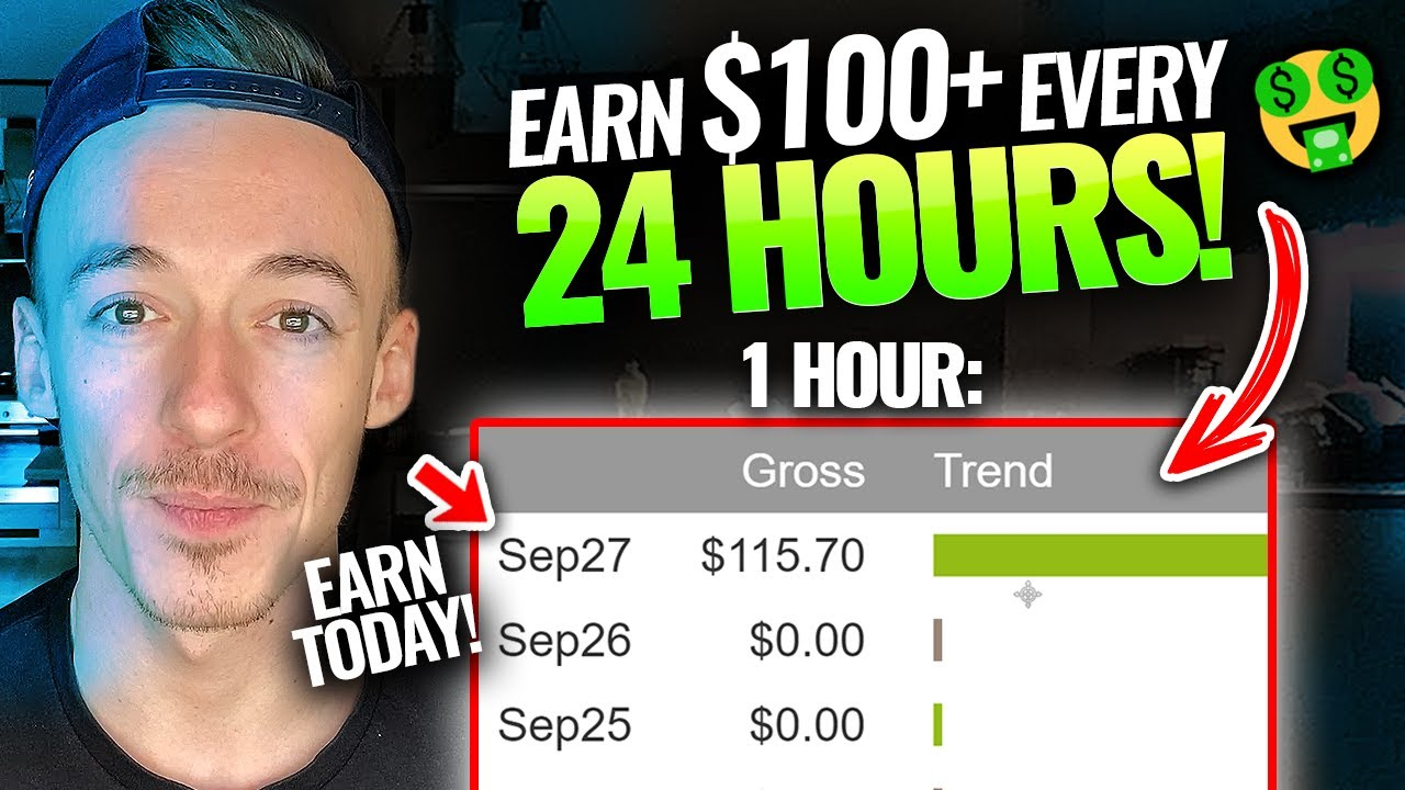 Get Paid $110+ Every 24 Hours (FREE METHOD!)   Make Money On Clickbank For Beginners