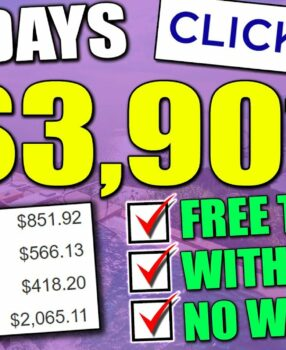 Clickbank Affiliate Marketing   How I Made $3,901 in 4 Days Without a Website Using Free Traffic!