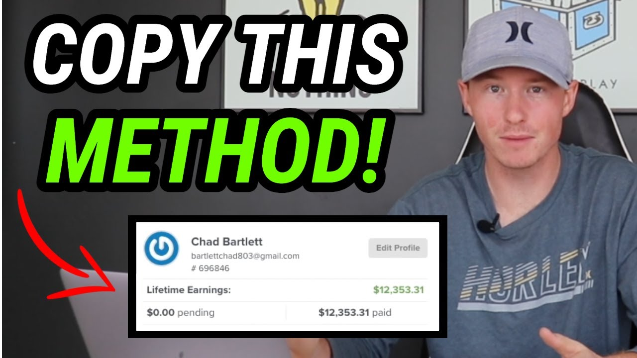 How I Went From ZERO To $10,000 With Affiliate Marketing (Exact Strategy)